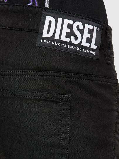 Diesel - Fayza JoggJeans® 069NC, Negro/Gris oscuro - Vaqueros - Image 4