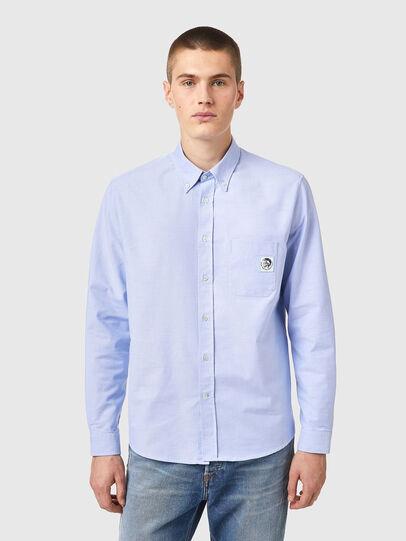 Diesel - S-JAMES-B, Light Blue - Shirts - Image 1