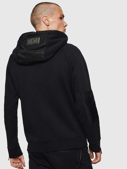 Diesel - S-IVAN, Black - Sweatshirts - Image 2