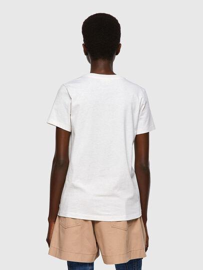 Diesel - T-SILY-ECOSMALLOGO, Pink/White - T-Shirts - Image 2