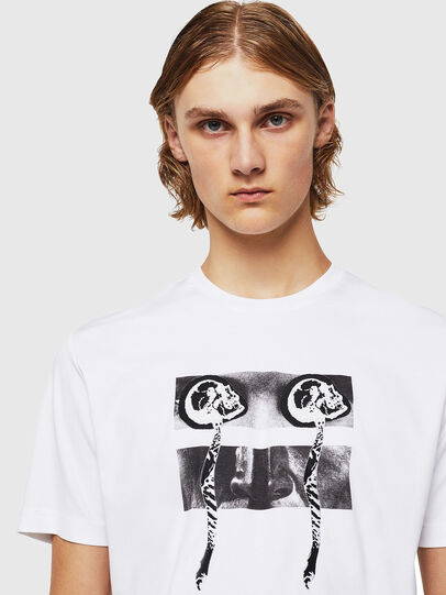 Diesel - TY-X1, White - T-Shirts - Image 4