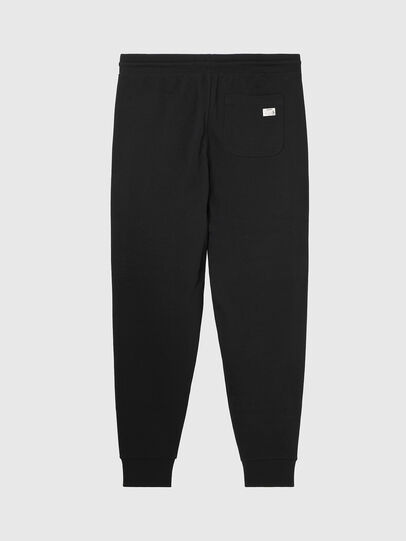 Diesel - UMLB-PETER, Black/White - Pants - Image 2