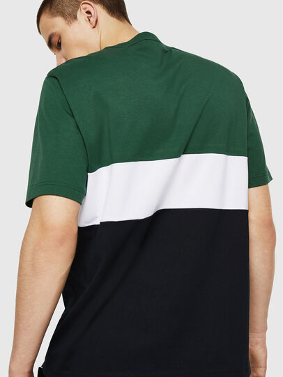 Diesel - T-JUST-A11, Green/Black - T-Shirts - Image 2
