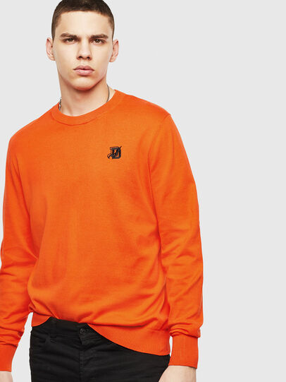 Diesel - K-FREEX, Orange - Sweaters - Image 4