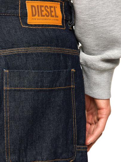 Diesel - D-Franky Straight Jeans 009HP, Dark Blue - Jeans - Image 4