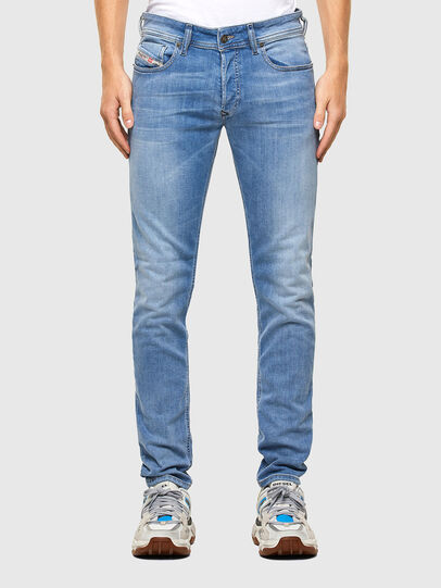 Diesel - Sleenker 009LZ, Light Blue - Jeans - Image 1