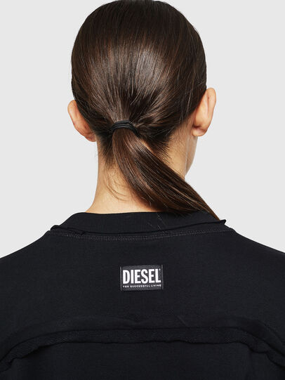 Diesel - F-LYANY-G, Black - Sweatshirts - Image 5