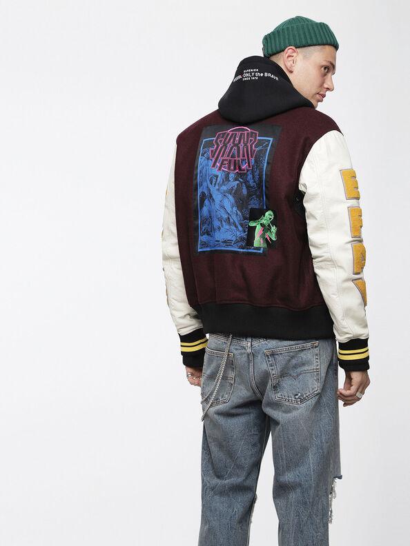 L-HARRYZ, Multicolor - Leather jackets