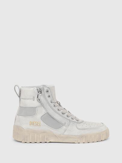 Diesel - S-RUA MID SK, White - Sneakers - Image 1