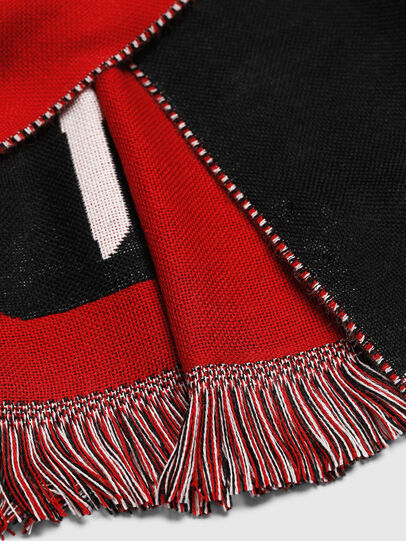 Diesel - STEDIO, Red/Black - Scarves - Image 3