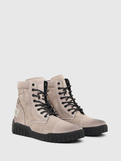 Diesel - H-RUA AM, Pink/Black - Sneakers - Image 3