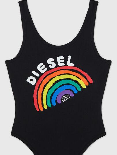 Diesel - UFBY-BODY-P, Black - Bodysuits - Image 3