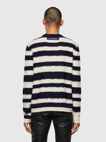 Diesel - K-BRODIE, White/Blue - Sweaters - Image 2