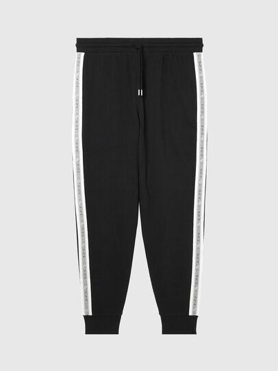 Diesel - UMLB-PETER, Black/White - Pants - Image 1
