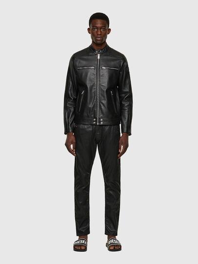 Diesel - L-BOY, Black - Leather jackets - Image 5