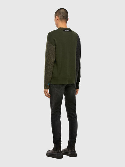Diesel - K-MOSES, Olive Green - Sweaters - Image 6