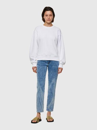 Diesel - F-LYM-C.C, White - Sweatshirts - Image 4