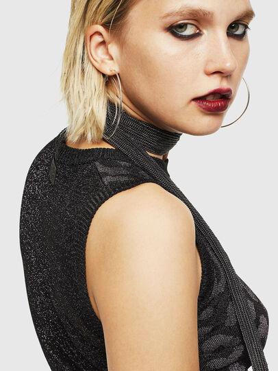 Diesel - M-TWINS, Black - Sweaters - Image 5