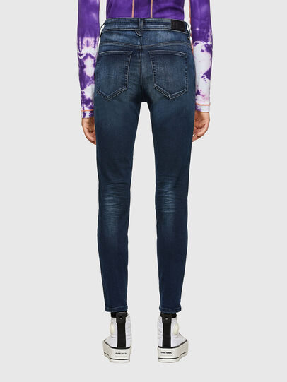 Diesel - Slandy High 009JH, Dark Blue - Jeans - Image 2