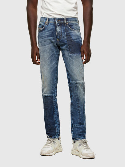 Diesel - D-Strukt Slim Jeans 009NI, Medium Blue - Jeans - Image 1