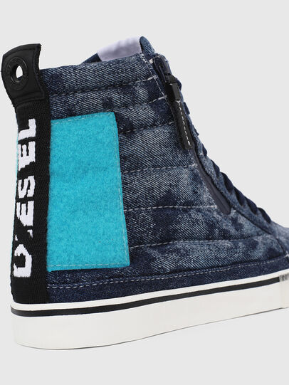 Diesel - D-VELOWS MID PATCH, Blue - Sneakers - Image 4