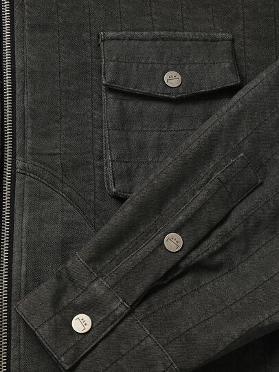 Diesel - ACW-SH02, Black - Denim Shirts - Image 3