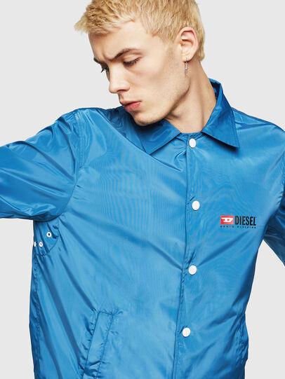 Diesel - J-ROMAN-P, Blue - Jackets - Image 4