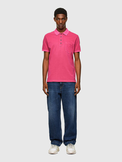 Diesel - T-KAL-2, Hot pink - Polos - Image 4