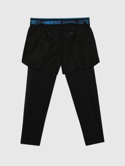 Diesel - UMLB-FAUST, Black - Pants - Image 2