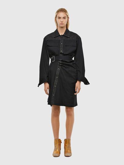 Diesel - D-CALYN, Black - Dresses - Image 1