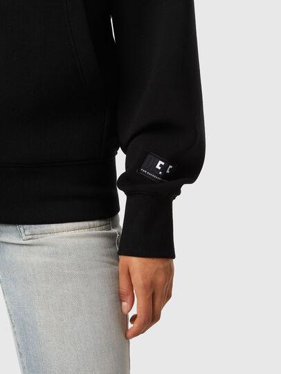 Diesel - F-LYMMY-C.C, Black - Sweatshirts - Image 3