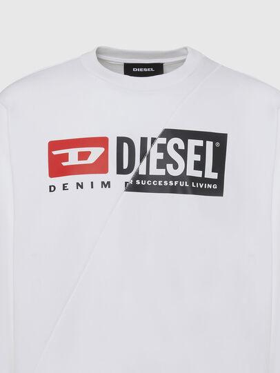 Diesel - S-GIRK-CUTY, White - Sweatshirts - Image 3