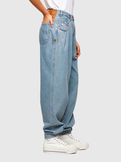 Diesel - D-Concias Boyfriend Jeans 009RQ, Light Blue - Jeans - Image 5