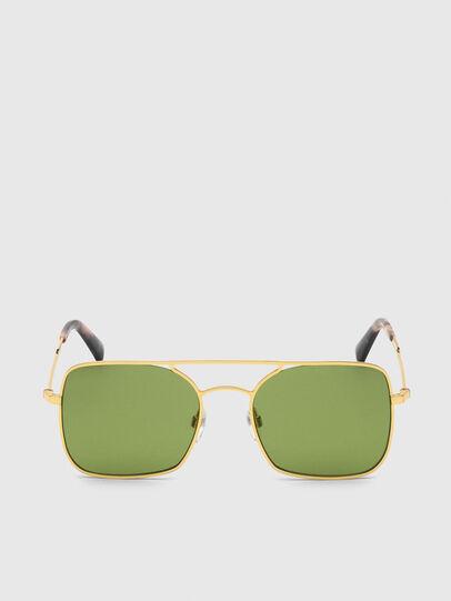 Diesel - DL0302, Gold - Sunglasses - Image 1