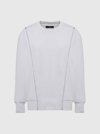 Diesel - F-GEORGIA, White - Sweatshirts - Image 1
