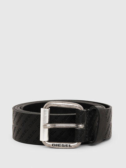 Diesel - B-SOLESINO, Black - Belts - Image 1