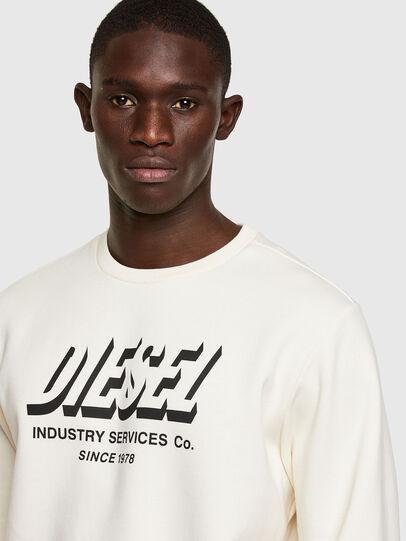 Diesel - S-GIRK-A74, White - Sweatshirts - Image 3