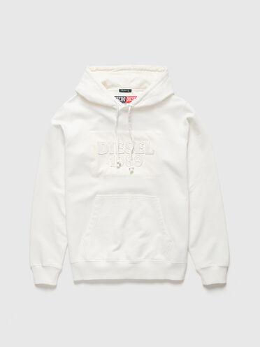 DieselXDiesel hoodie with logo patch