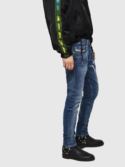 Diesel - Tepphar 0890X, Medium Blue - Jeans - Image 5