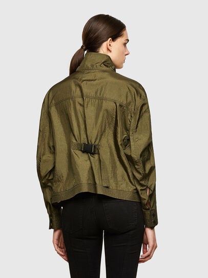 Diesel - C-CORAL, Military Green - Shirts - Image 2