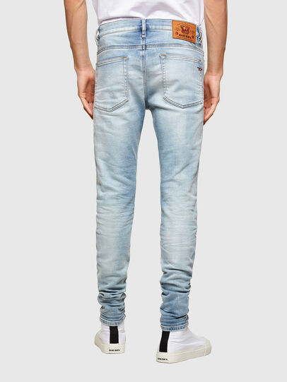 Diesel - D-Reeft Skinny JoggJeans® 069UC, Light Blue - Jeans - Image 2