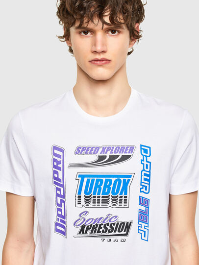 Diesel - T-DIEGOS-K38, White - T-Shirts - Image 3