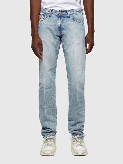 Diesel - D-Kras Slim Jeans 009NC, Light Blue - Jeans - Image 1