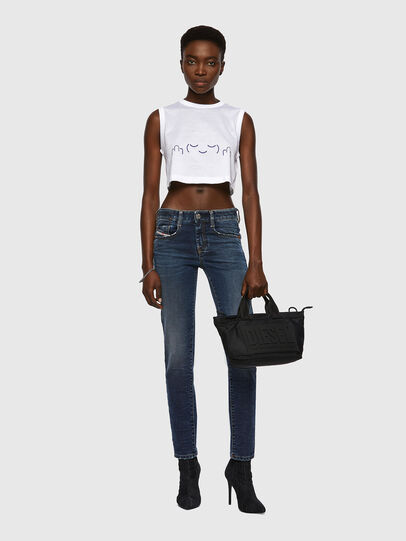Diesel - D-Ollies Slim JoggJeans® 069WY, Dark Blue - Jeans - Image 5