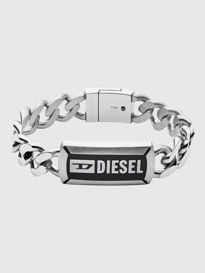 Diesel - DX1242, Silver - Bracelets - Image 1