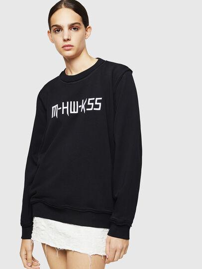 Diesel - F-LYANY-H, Black - Sweatshirts - Image 1