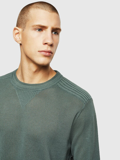 Diesel - K-RIO, Olive Green - Sweaters - Image 3