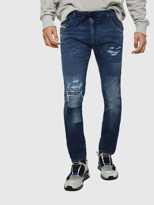 Krooley JoggJeans 069HB, Medium Blue - Jeans