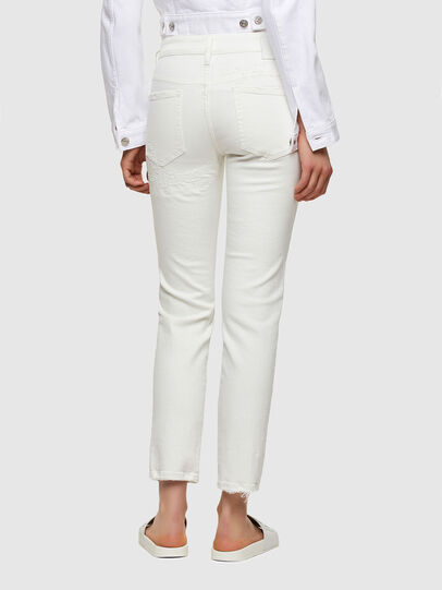 Diesel - D-Rifty Slim Jeans 009VU, White - Jeans - Image 2