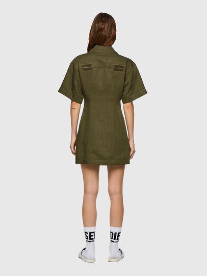 Diesel - D-AMABEL, Military Green - Dresses - Image 2